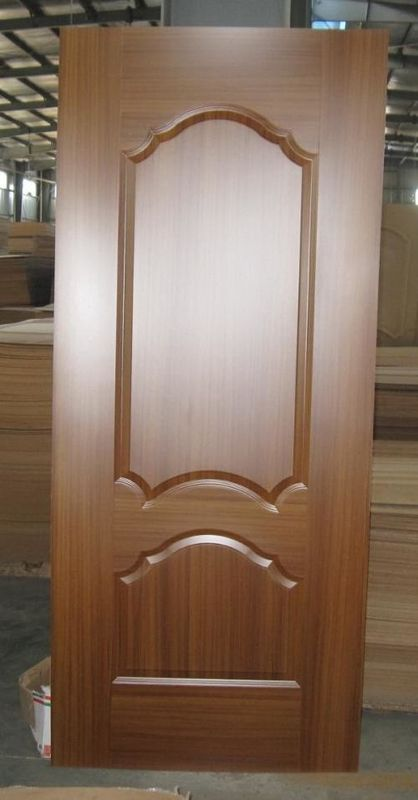 Mahogany Molded Flush Door Skin , Environmental Friendliness Outer Door Skin